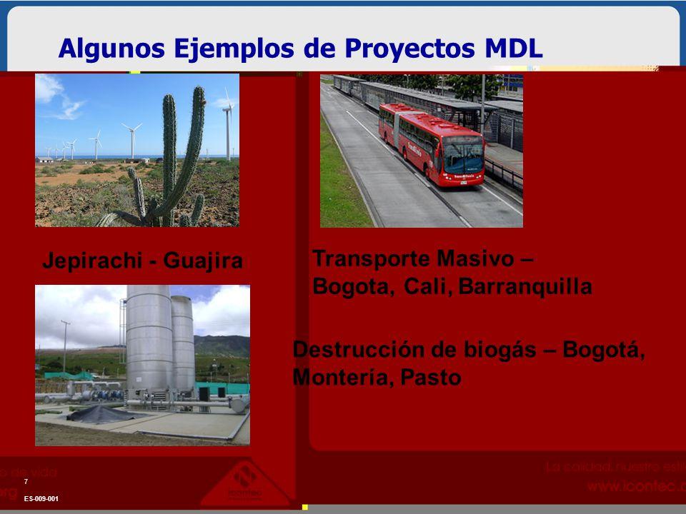 Algunos Ejemplos de Proyectos MDL