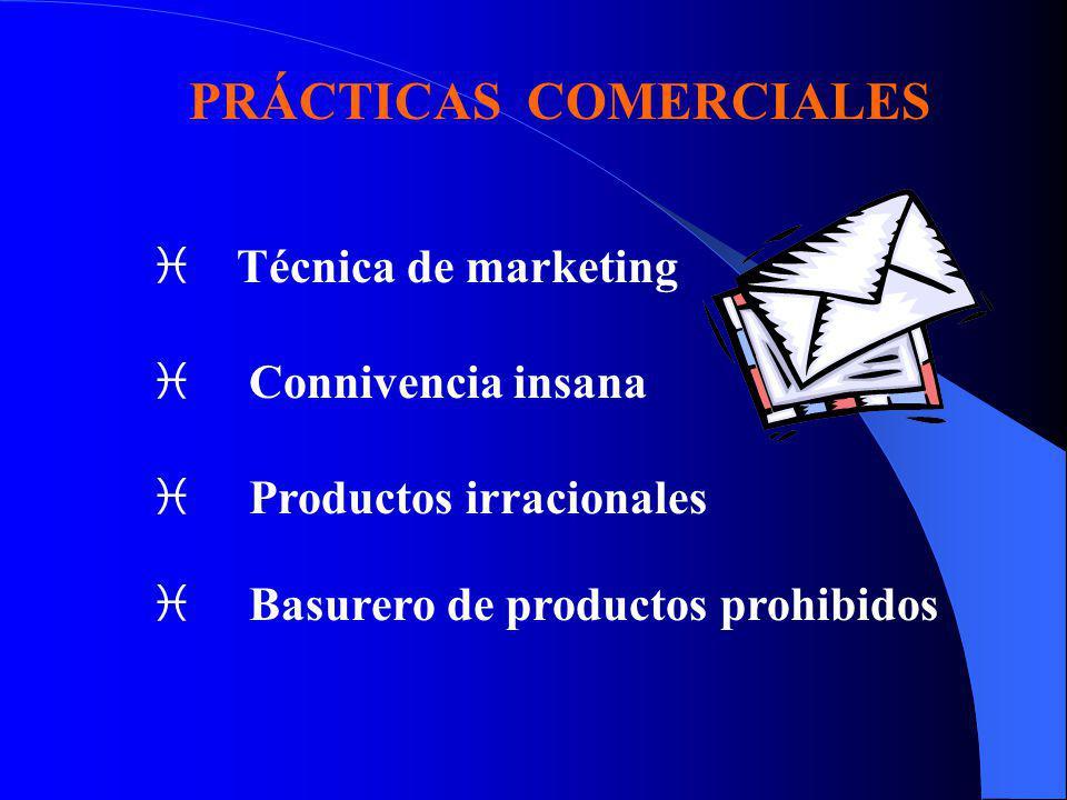 PRÁCTICAS COMERCIALES