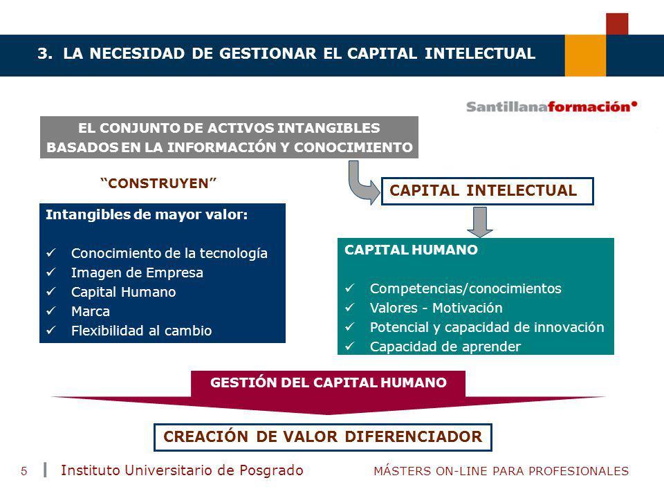 CAPITAL INTELECTUAL CREACIÓN DE VALOR DIFERENCIADOR