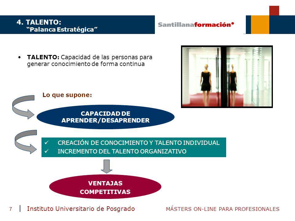 CAPACIDAD DE APRENDER/DESAPRENDER