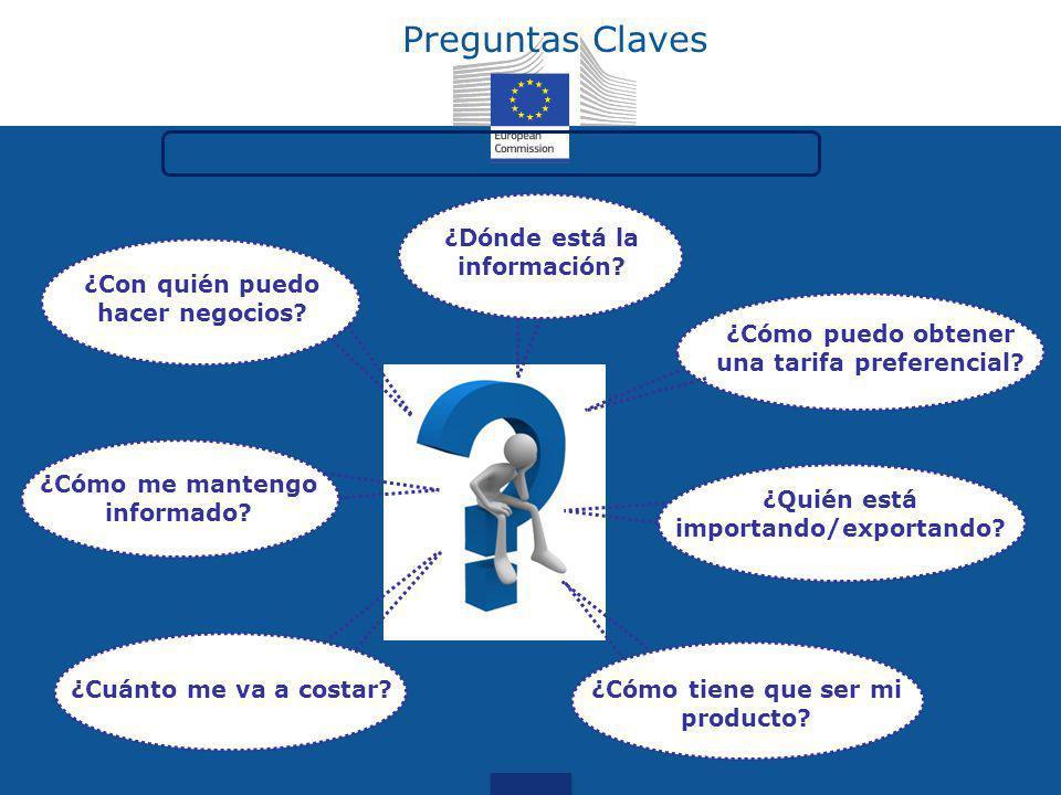 Preguntas Claves ¿Dónde está la información