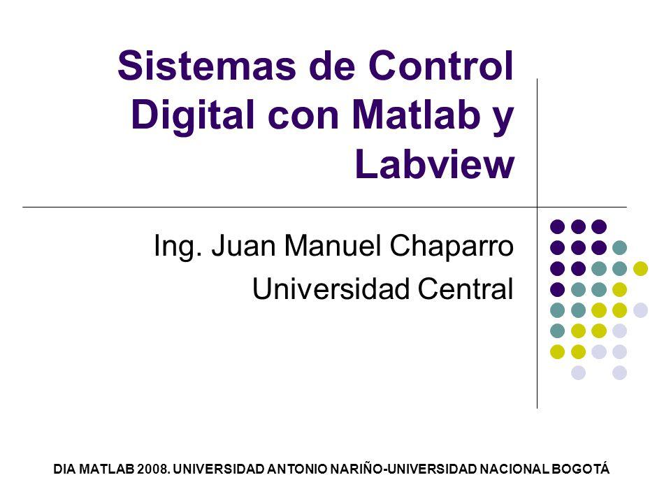 Sistemas de Control Digital con Matlab y Labview