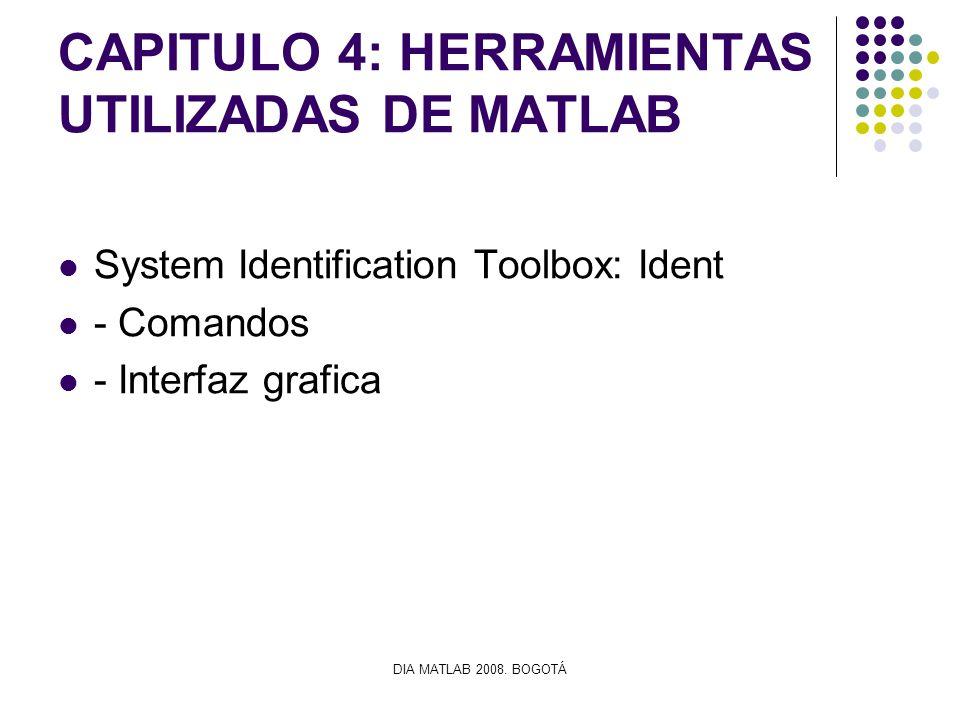 CAPITULO 4: HERRAMIENTAS UTILIZADAS DE MATLAB