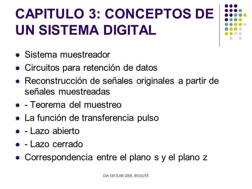 CAPITULO 3: CONCEPTOS DE UN SISTEMA DIGITAL