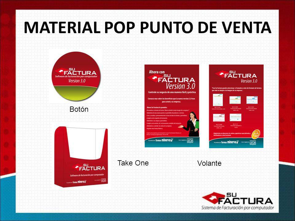 MATERIAL POP PUNTO DE VENTA