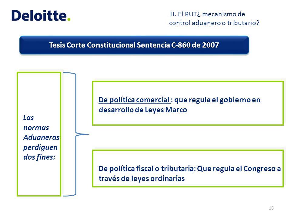 Tesis Corte Constitucional Sentencia C-860 de 2007