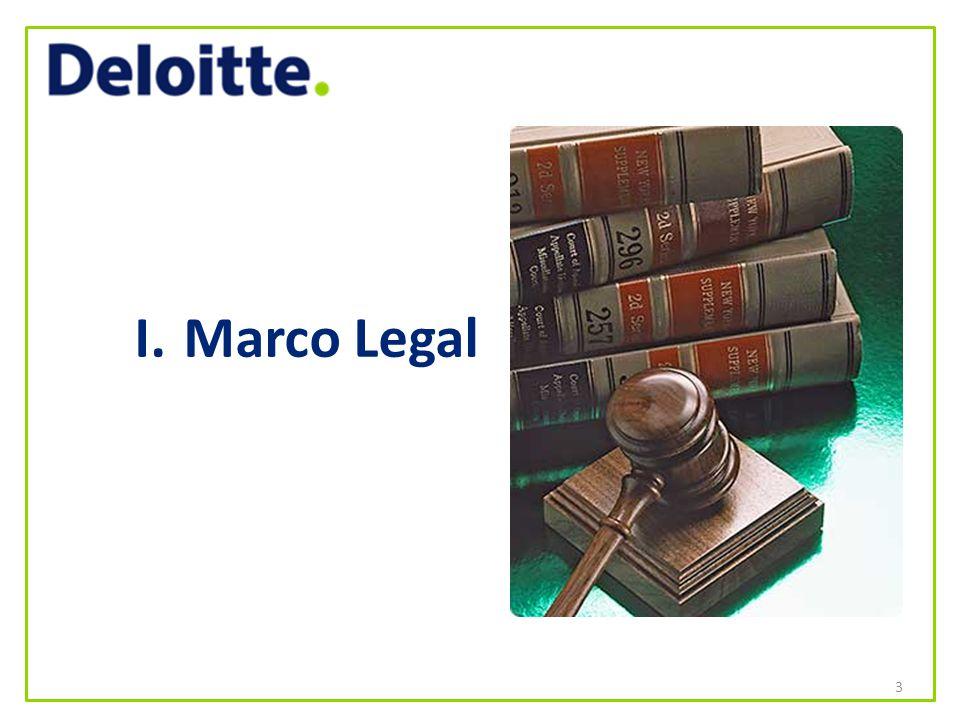 I. Marco Legal