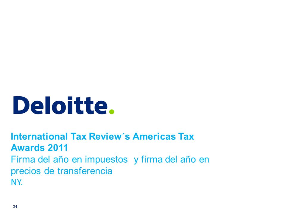 International Tax Review´s Americas Tax Awards 2011