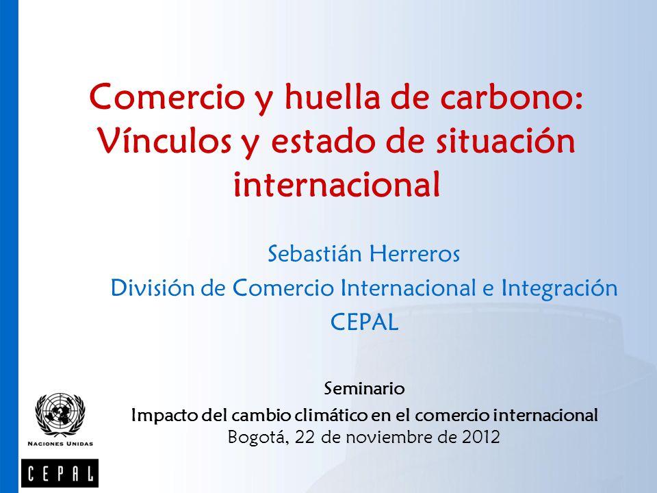 División de Comercio Internacional e Integración