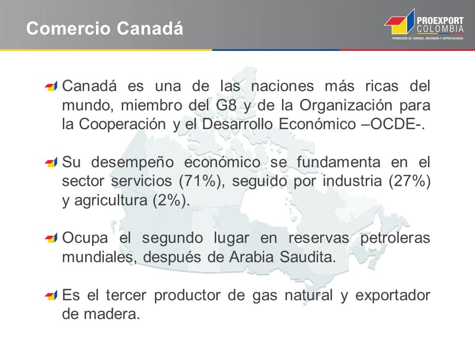 Comercio Canadá