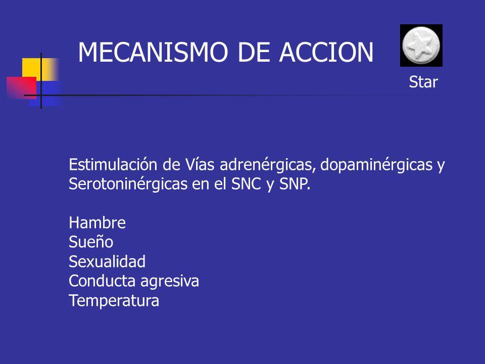 MECANISMO DE ACCION Star