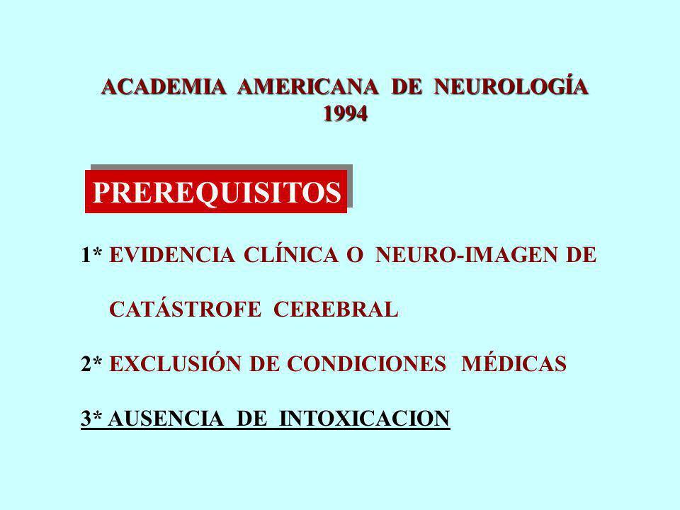 ACADEMIA AMERICANA DE NEUROLOGÍA