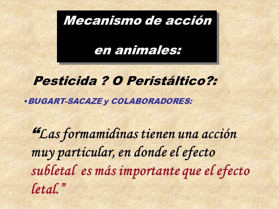 Pesticida O Peristáltico :