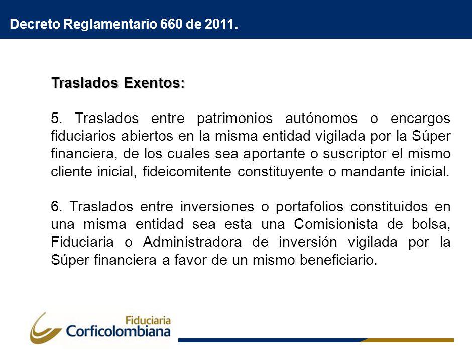 Decreto 2645 de 2011.