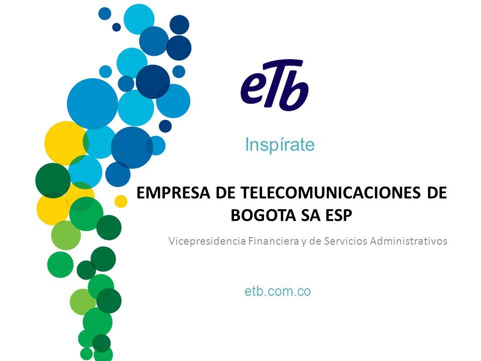 EMPRESA DE TELECOMUNICACIONES DE BOGOTA SA ESP