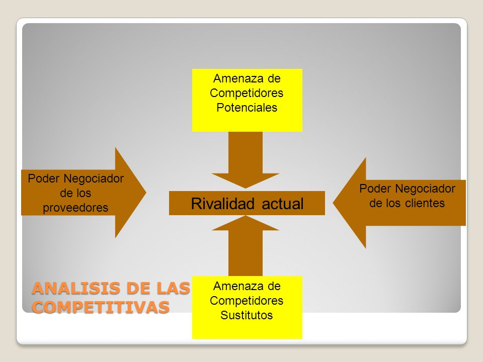ANALISIS DE LAS FUERZAS COMPETITIVAS