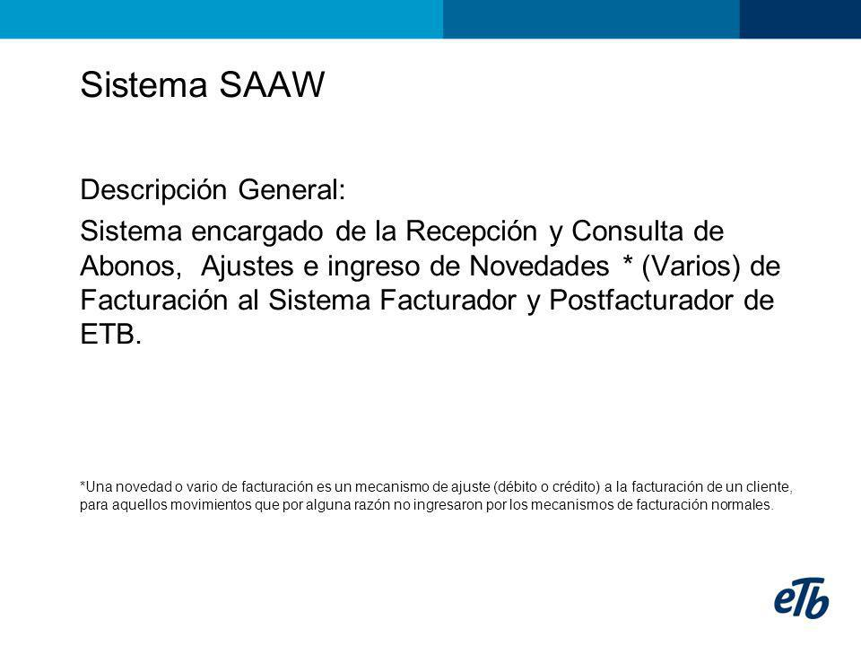 Sistema SAAW Descripción General: