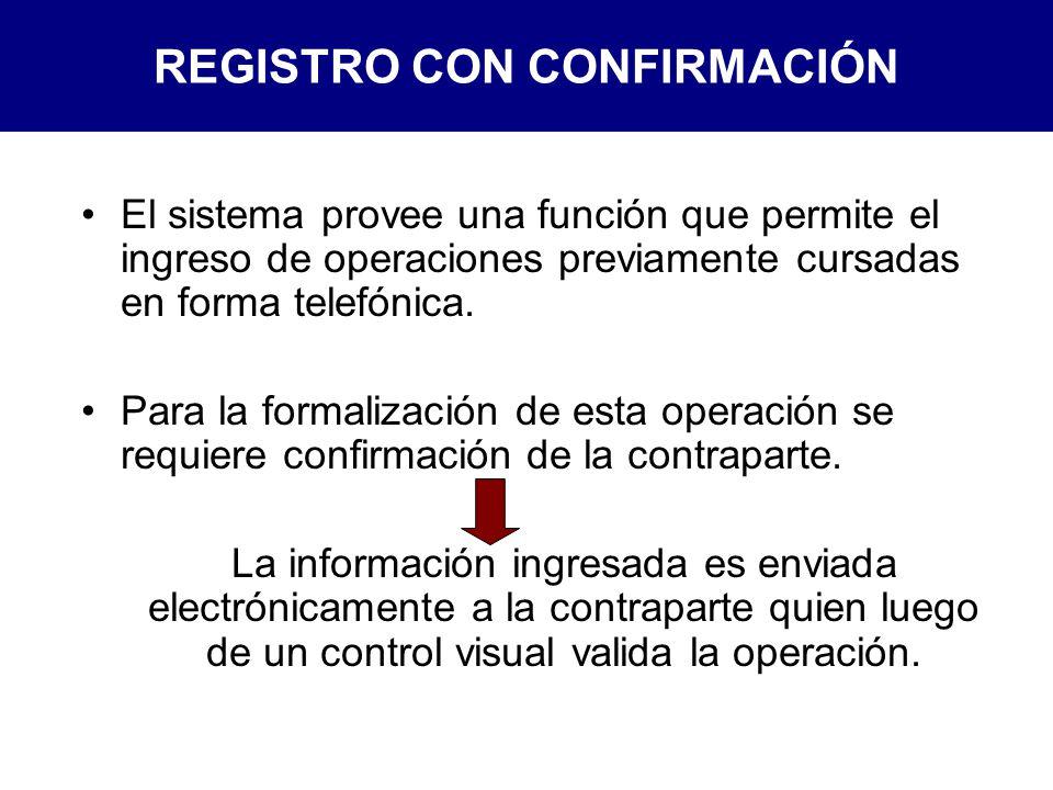 REGISTRO CON CONFIRMACIÓN
