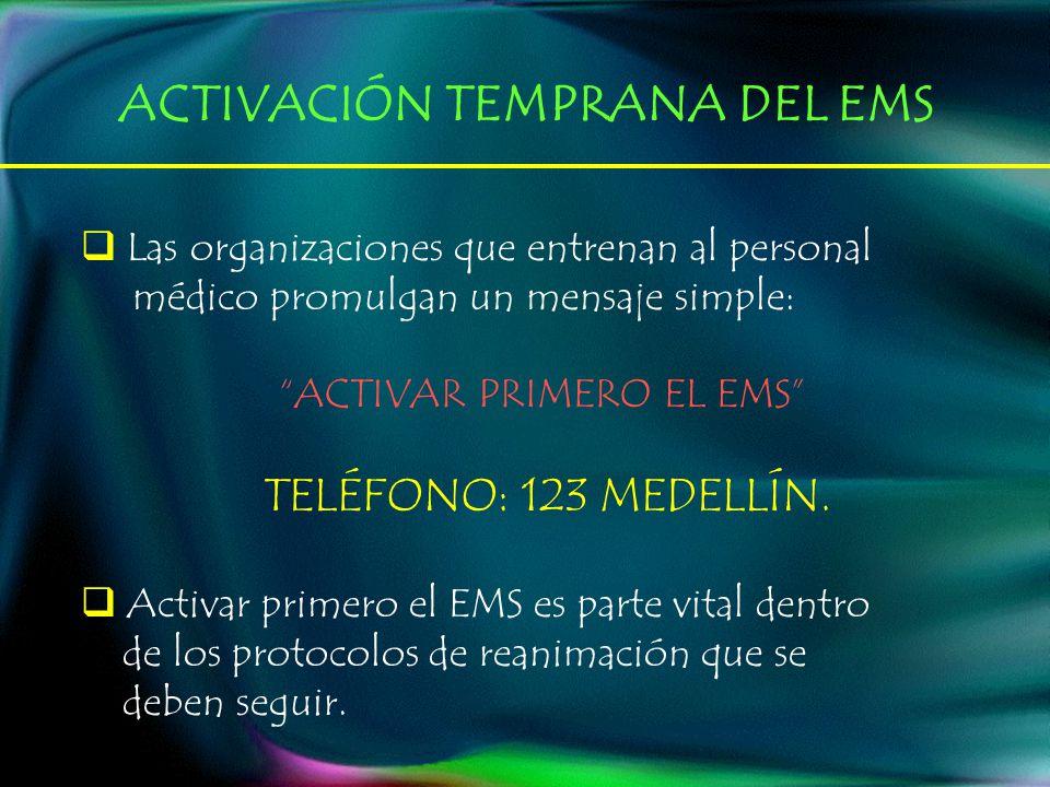 ACTIVAR PRIMERO EL EMS