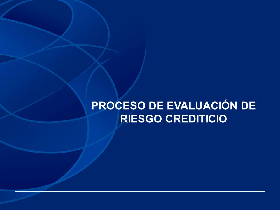 PROCESO DE EVALUACIÓN Banca Social