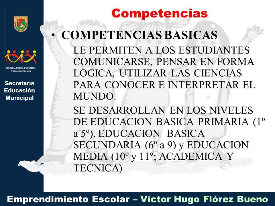 Competencias COMPETENCIAS BASICAS