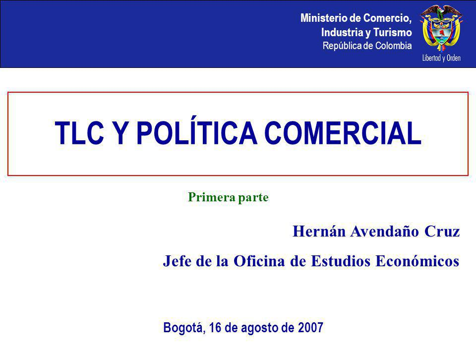 TLC Y POLÍTICA COMERCIAL