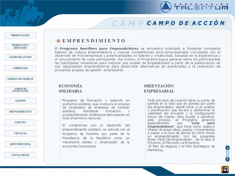MODELO DE CONTRATACIÓN