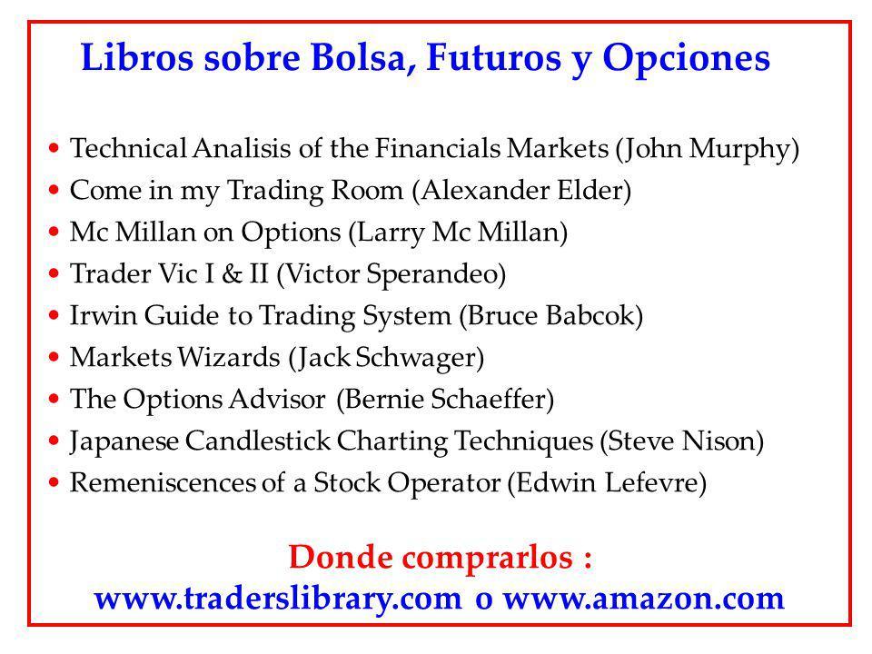 Libros sobre Bolsa, Futuros y Opciones