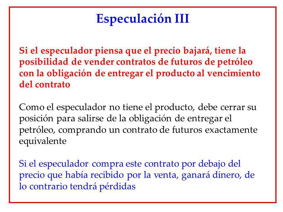 Especulación III