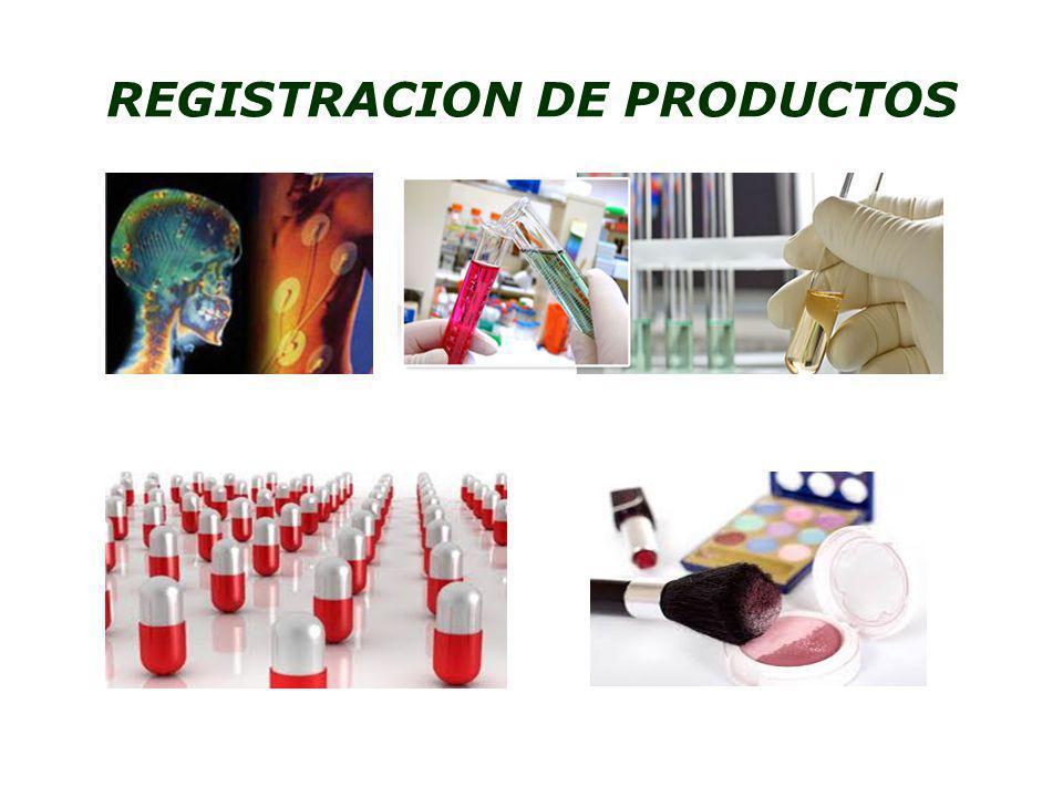 REGISTRACION DE PRODUCTOS
