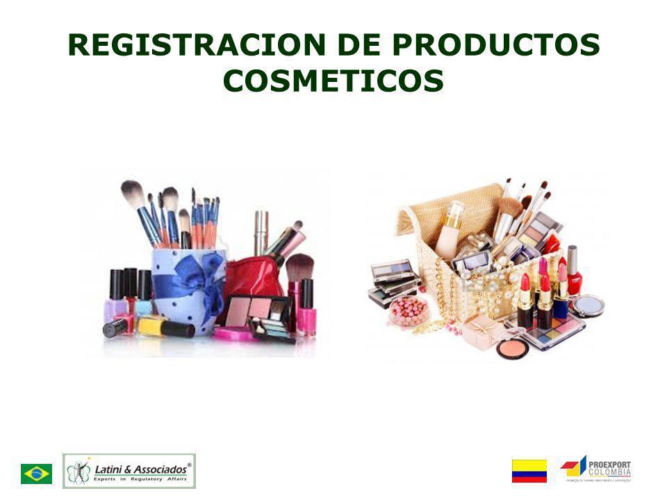 REGISTRACION DE PRODUCTOS COSMETICOS