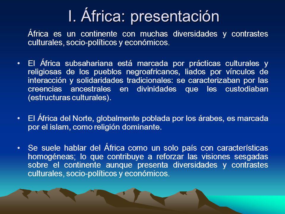 I. África: presentación