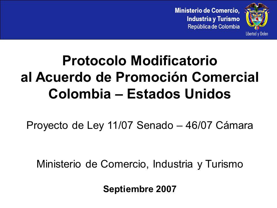 Protocolo Modificatorio al Acuerdo de Promoción Comercial