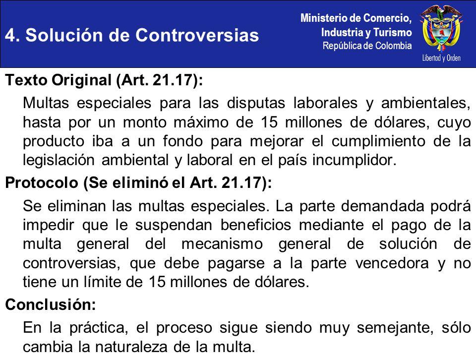 4. Solución de Controversias