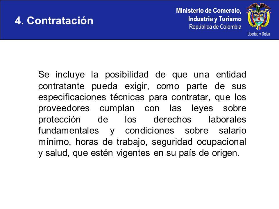 4. Contratación