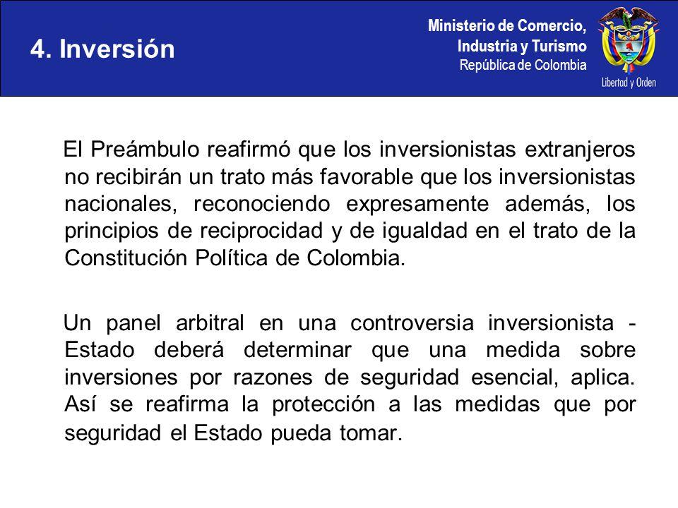 4. Inversión