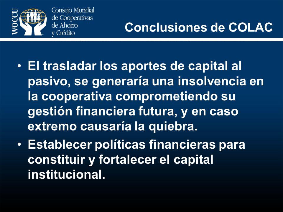 Conclusiones de COLAC