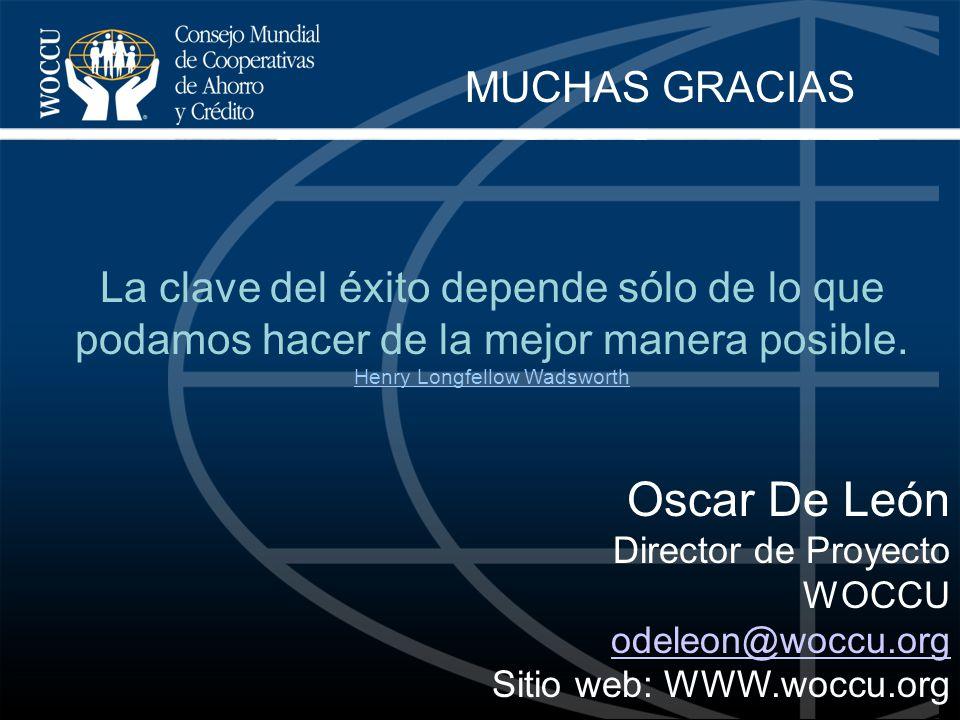 Oscar De León Director de Proyecto