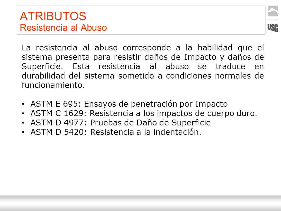 ATRIBUTOS Resistencia al Abuso