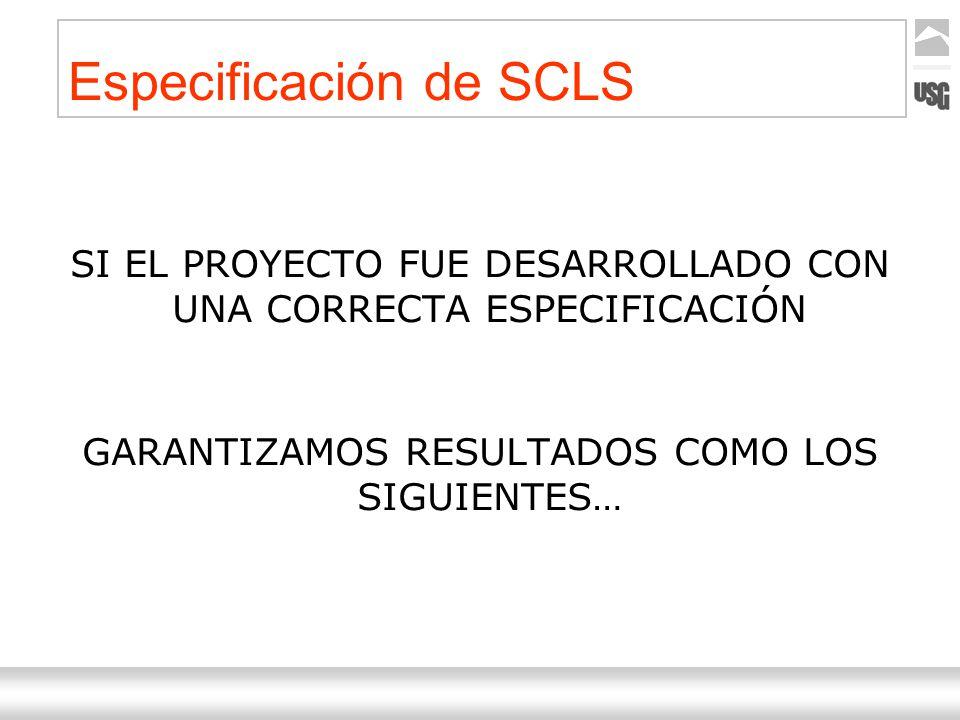 Especificación de SCLS