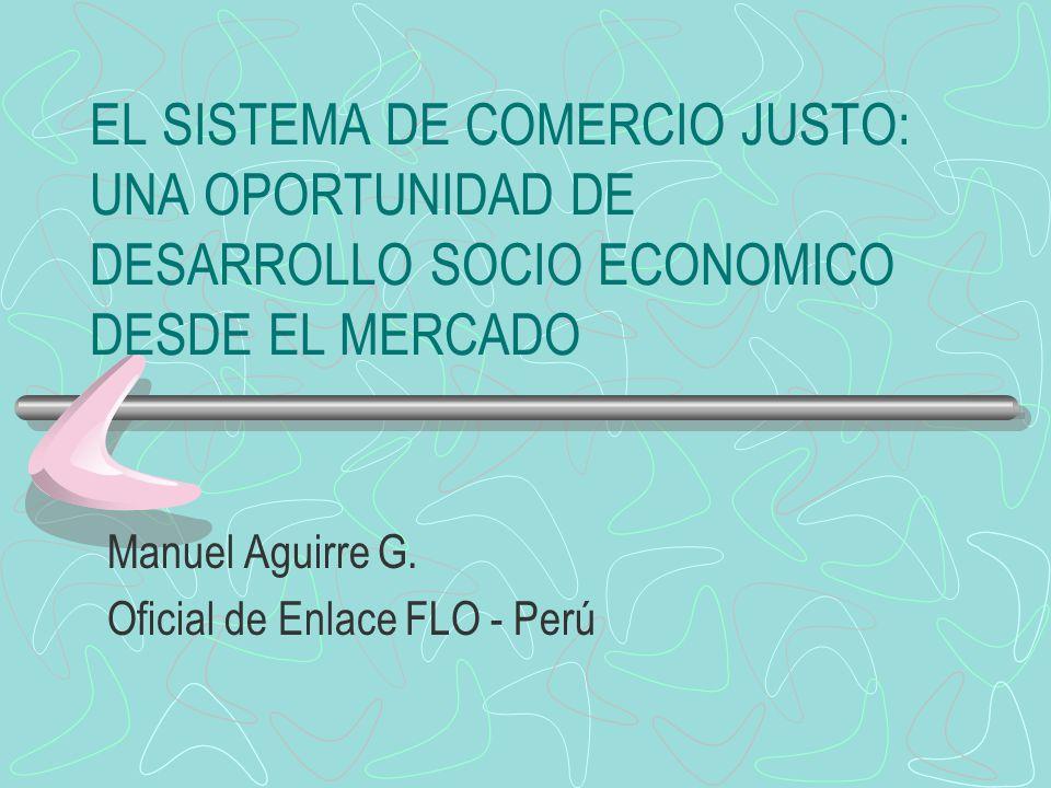 Manuel Aguirre G. Oficial de Enlace FLO - Perú