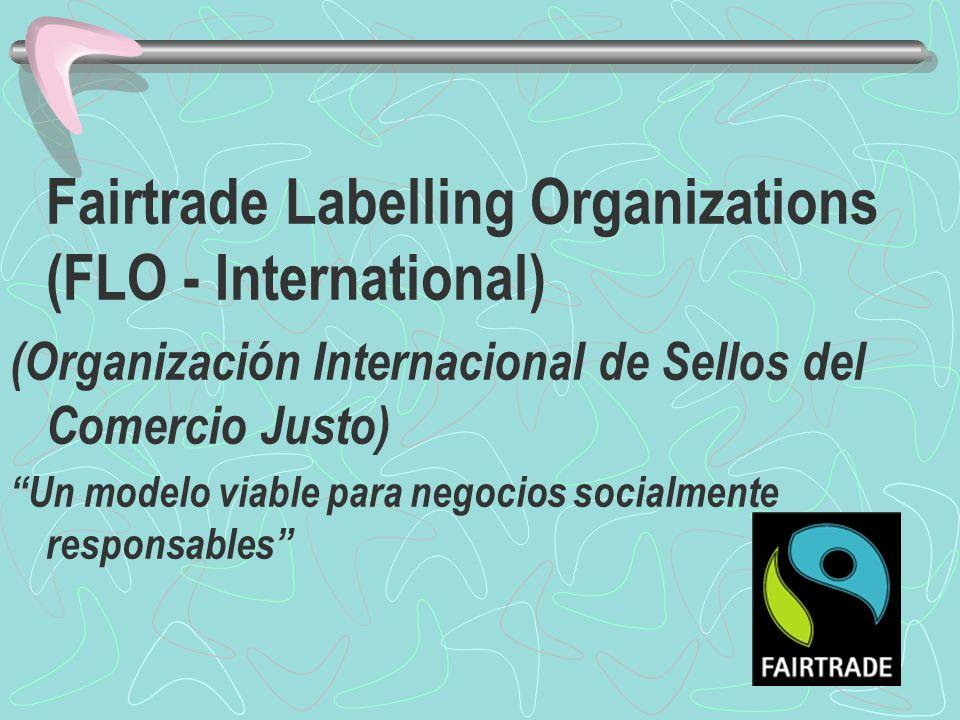 (Organización Internacional de Sellos del Comercio Justo)