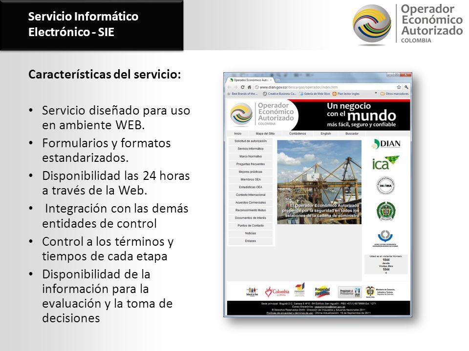 Servicio Informático Electrónico - SIE