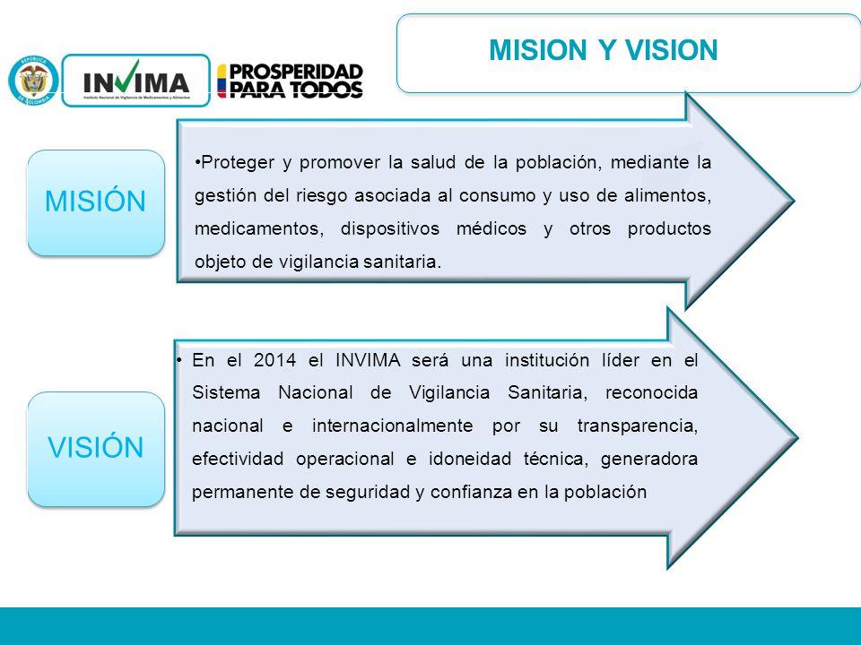 MISION Y VISION MISIÓN.