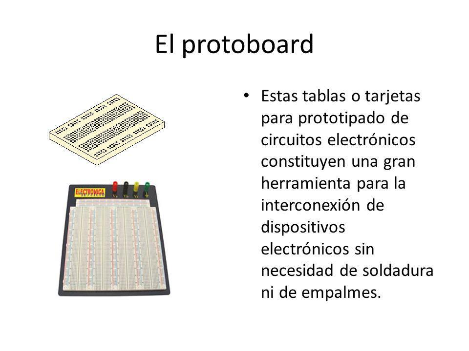 El protoboard