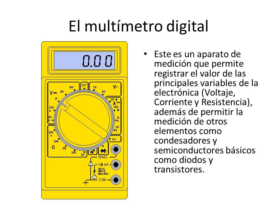 El multímetro digital