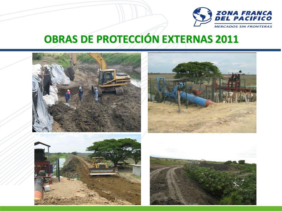 OBRAS DE PROTECCIÓN EXTERNAS 2011