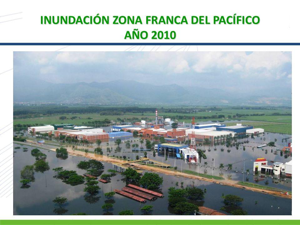 INUNDACIÓN ZONA FRANCA DEL PACÍFICO