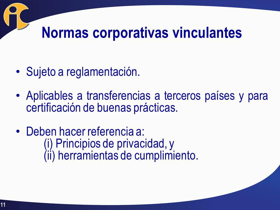 Normas corporativas vinculantes