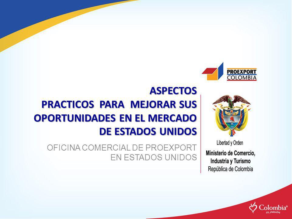 OFICINA COMERCIAL DE PROEXPORT EN ESTADOS UNIDOS